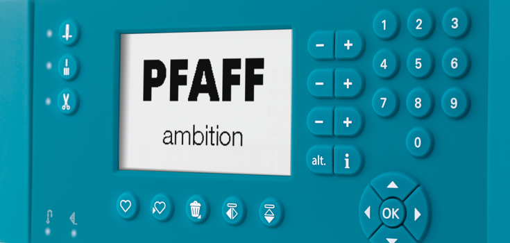 PFAFF® LCD Screen