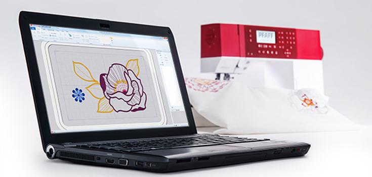Embroidery Intro PC Sticksoftware mit dabei