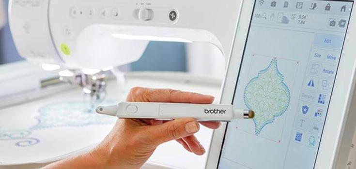 Hochauflösender Touchscreen