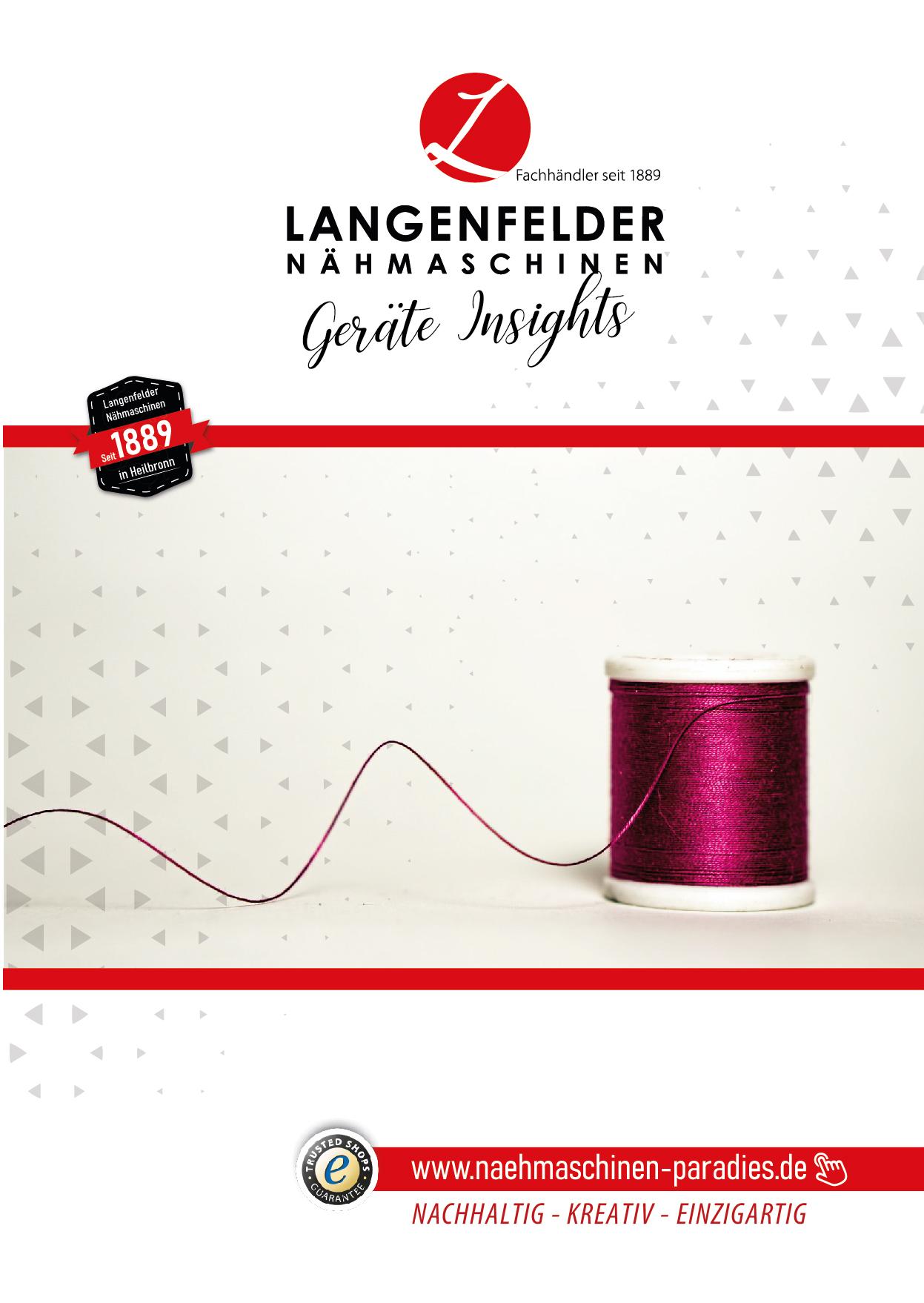 Langenfelder Nähmaschinen Geräte Insights